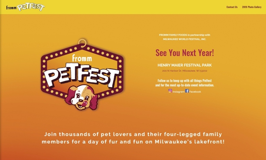 Fromm Petfest