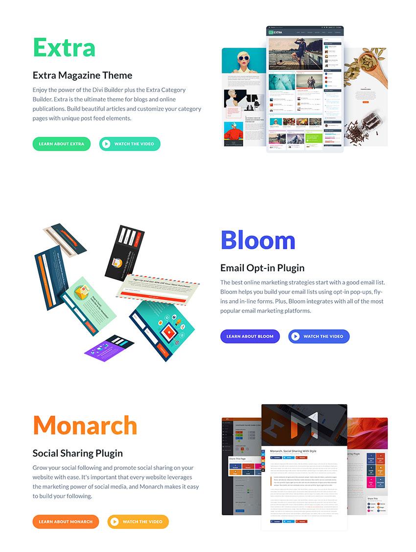 Elegant Themes Products