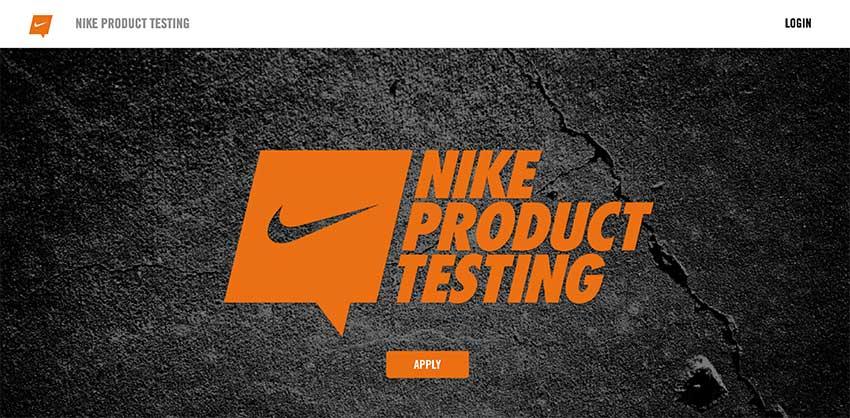 Nike Product Testing