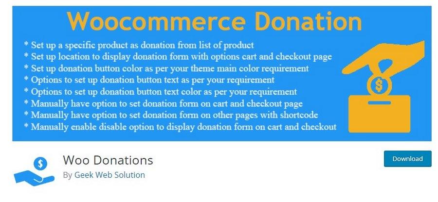 woo donations