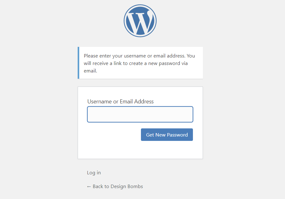 How to reset WordPress password