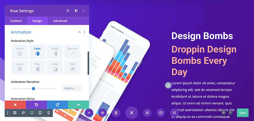 The Divi User-Interface