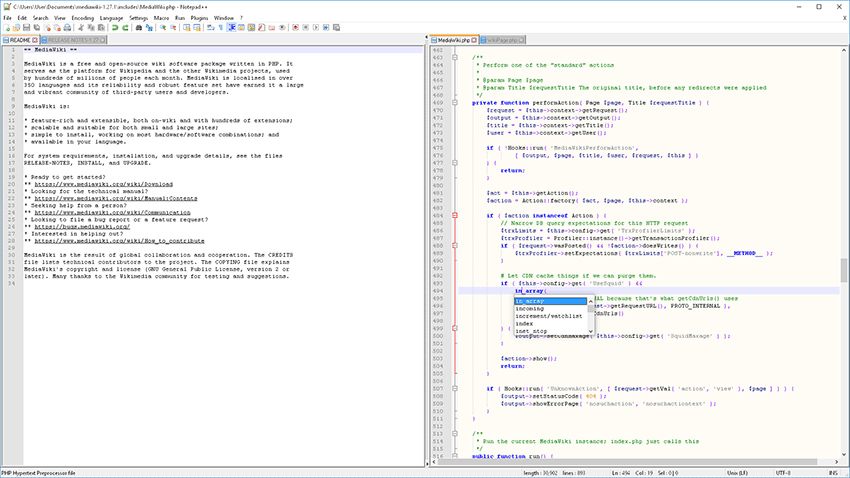 Notepad++ Text Editor