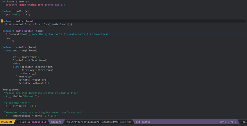Spacemacs Text Editor