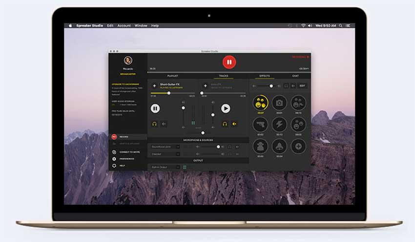 Spreaker Desktop App