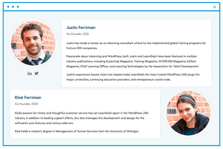 LearnDash founders