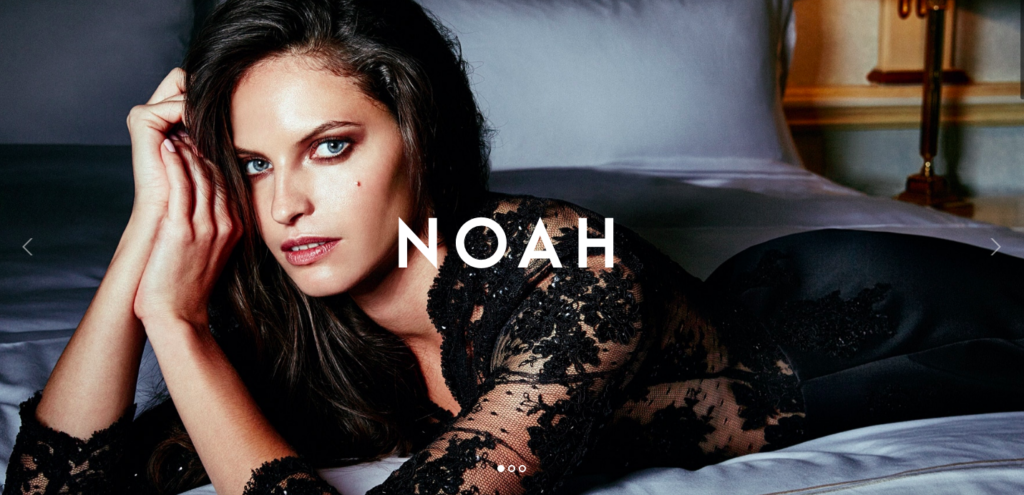 Noah photography WordPress theme