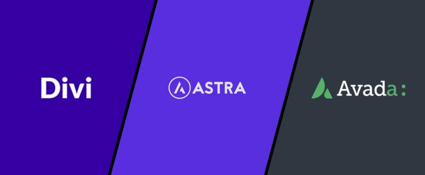 Divi vs Astra vs Avada – A Comparison of 3 High-Quality WordPress Themes (2021)