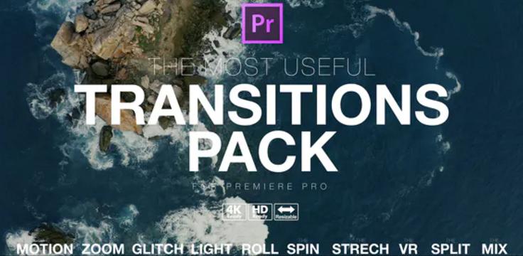 Premiere pro transitions template