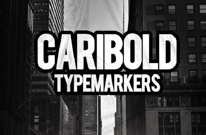 Caribold YouTube font
