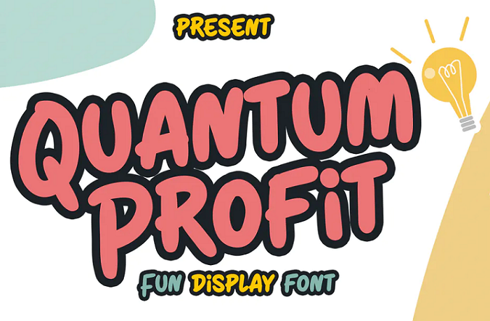 Quantum Profit YouTube font