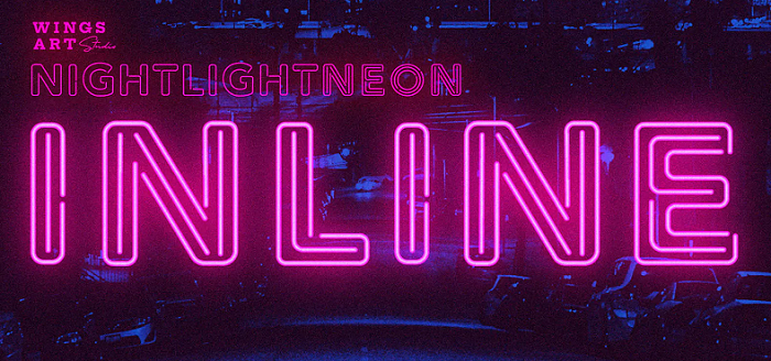Retro Neon YouTube font