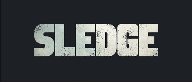 Sledge font - the best block font