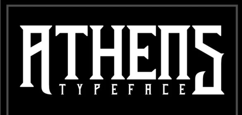 Athens typeface