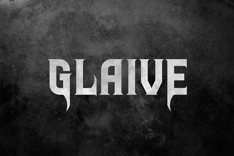 Glaive blackletter font