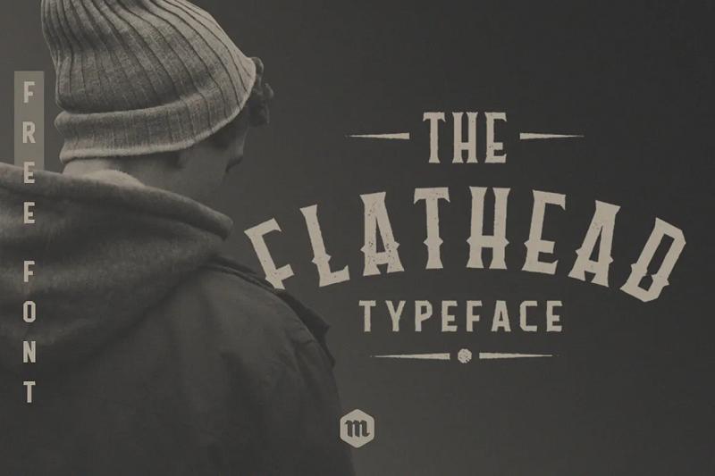 flathead blackletter font