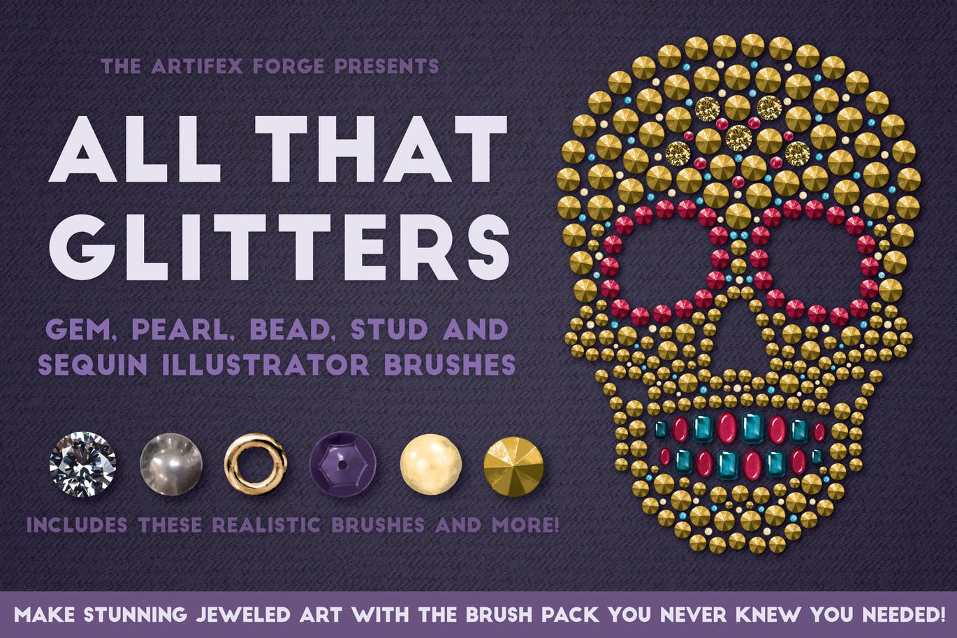 All that glitters brushes