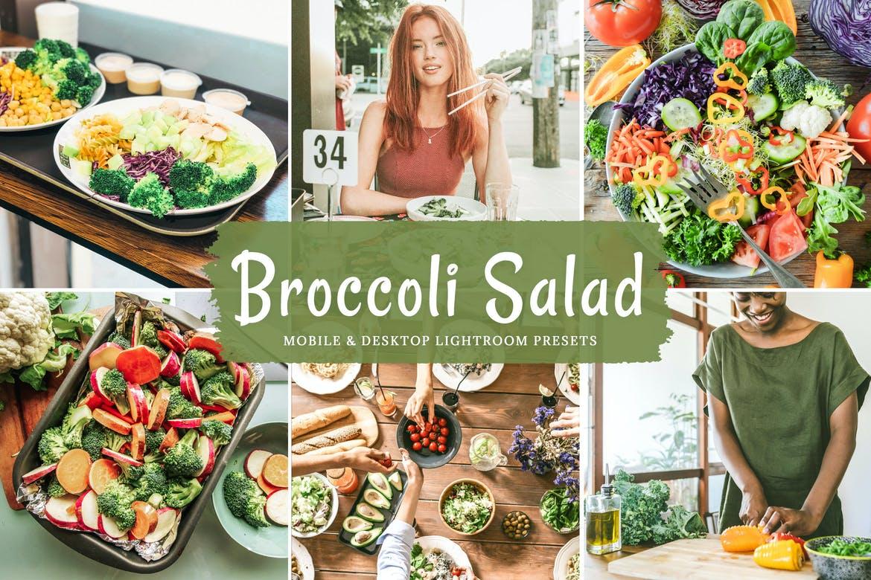 Broccoli salad lightroom presets
