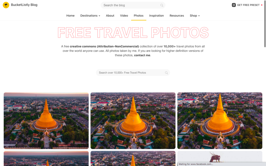 Bucketlistly free travel photos