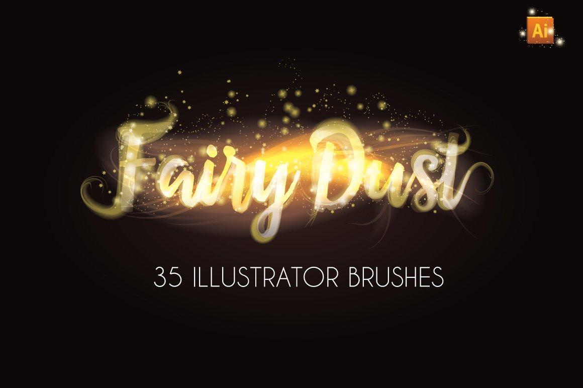 Fairy dust sparkle brushes