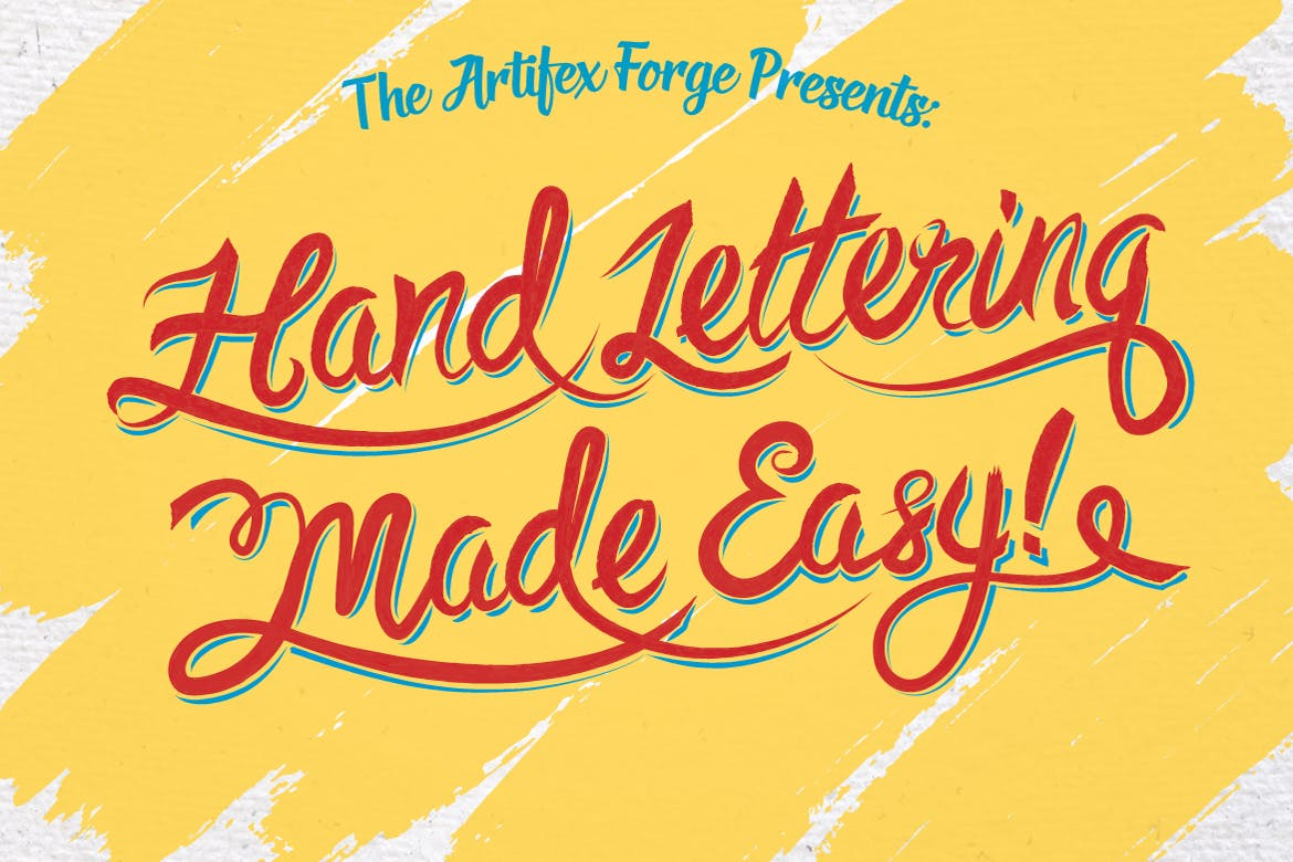 Hand lettering made easy