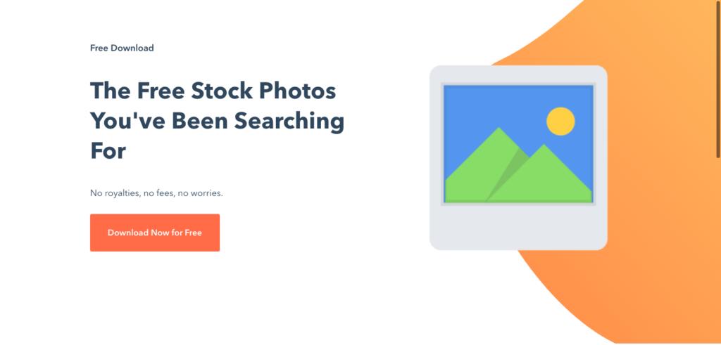 Hubspot free stock photos