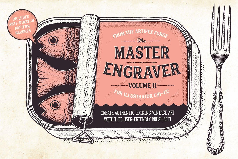 The Master Engraver brushes