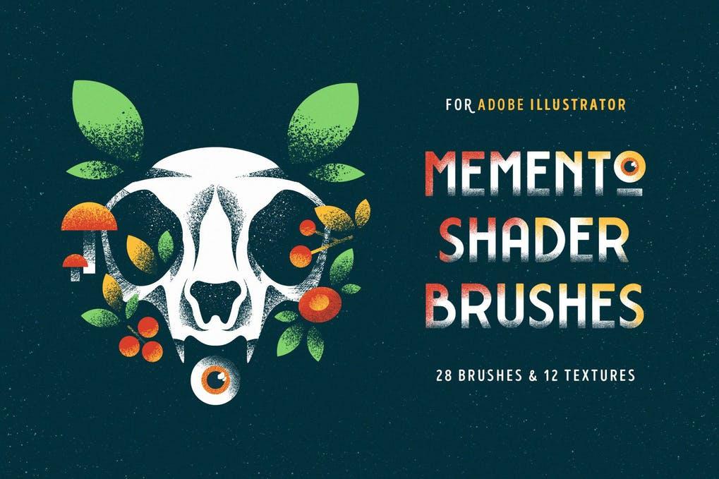 Memento shader brushes