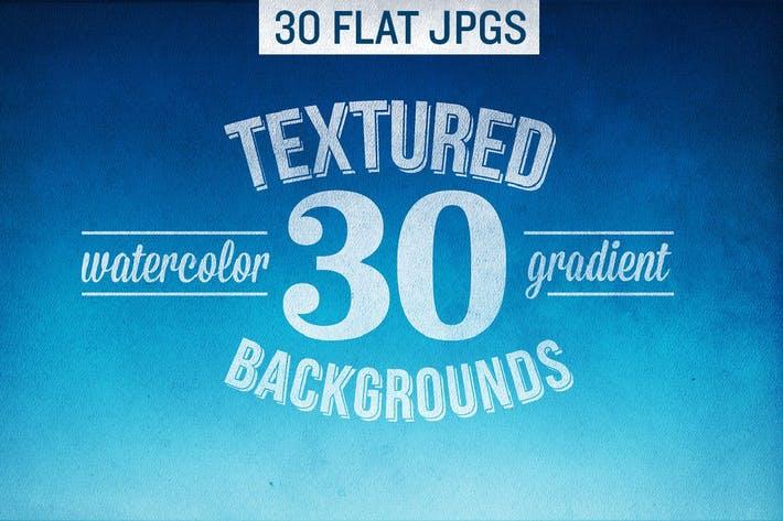 Textured watercolor gradient backgrounds