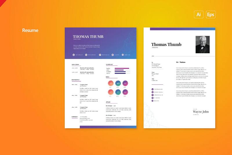 Tech resume template