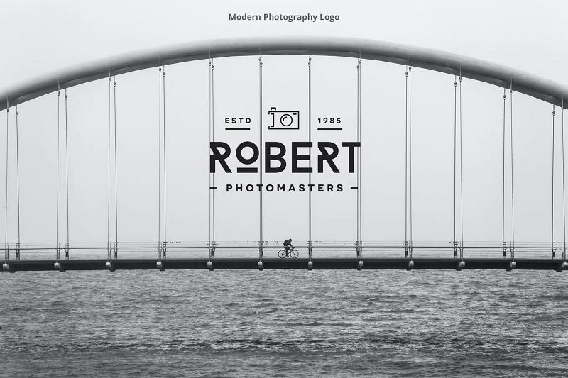 photography photoshop logo template
