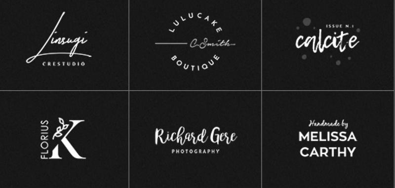 elegant photoshop logo templates