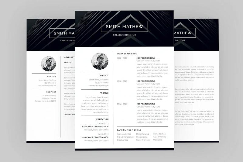Smith creative cv template