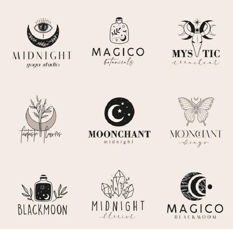 Free creative photoshop logo template