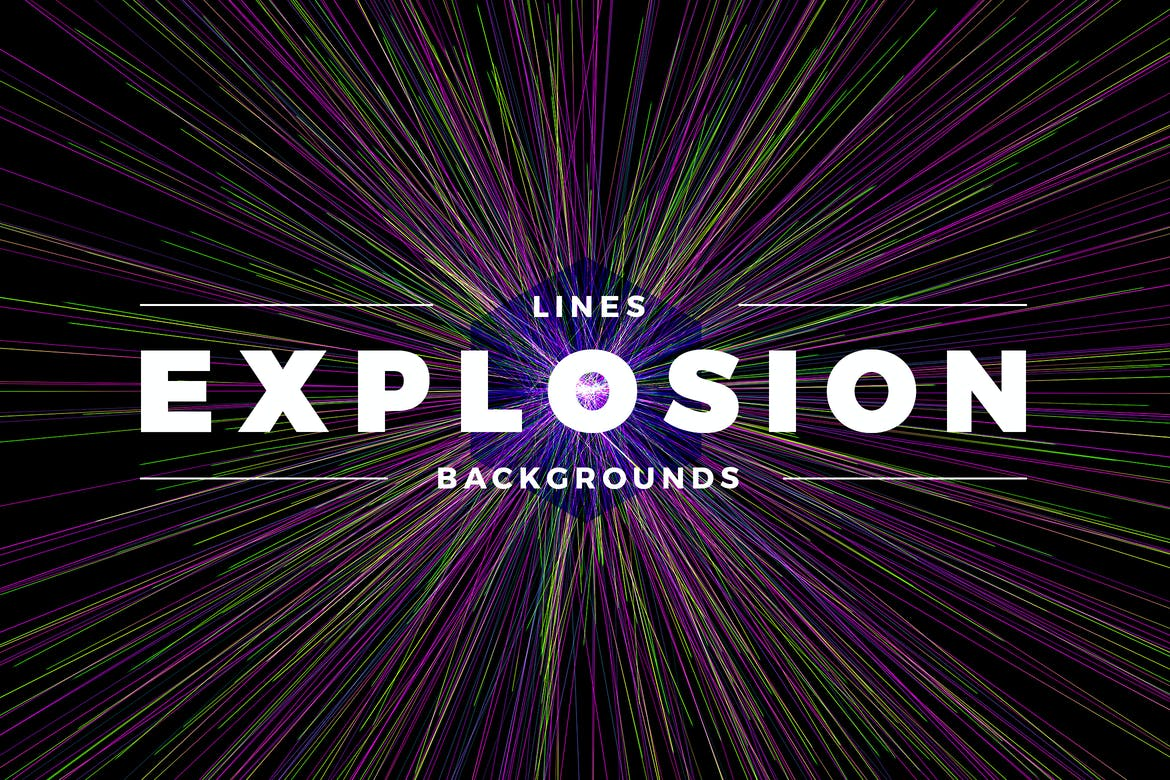 Lines explosion backgrounds