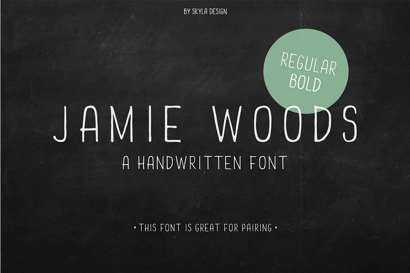 Jamie Wood narrow and condensed font