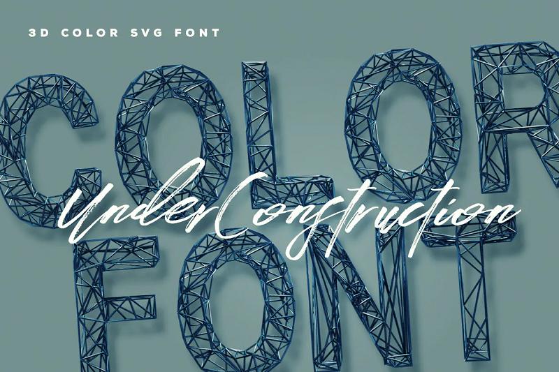 Under Construction font