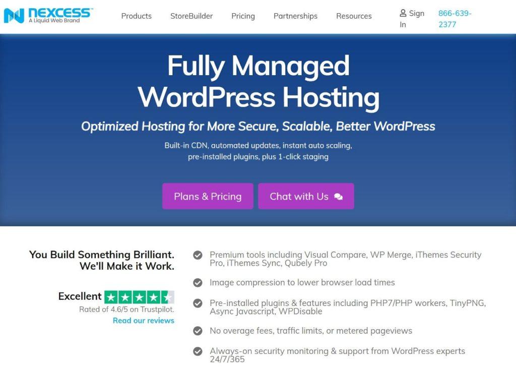 Nexcess managed WordPress hosting review
