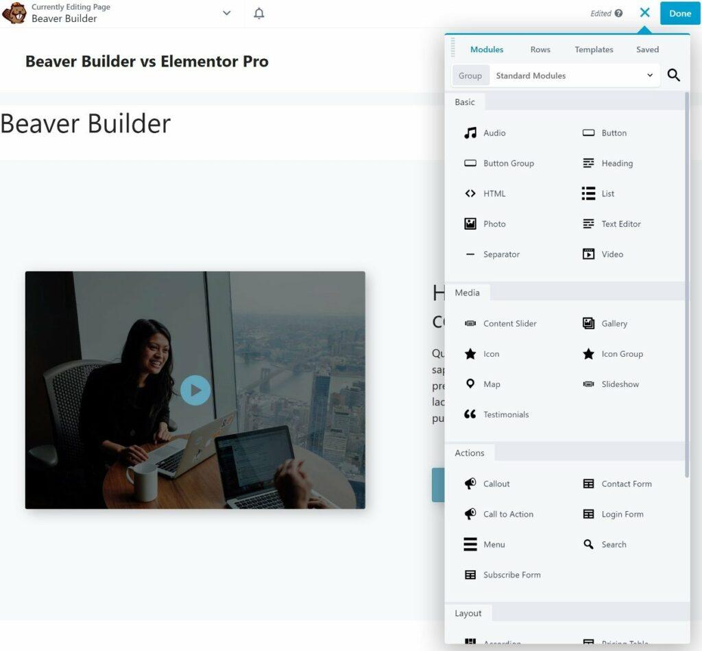 Beaver Builder add new module