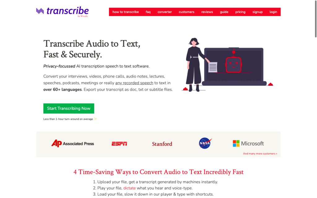 Transcribe by Wreally